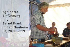Agnihotravortrag mit Praxiseinführung @ Yoga Raum Steinfurth (Bad Nauheim) | Ober-Ramstadt | Hessen | Deutschland